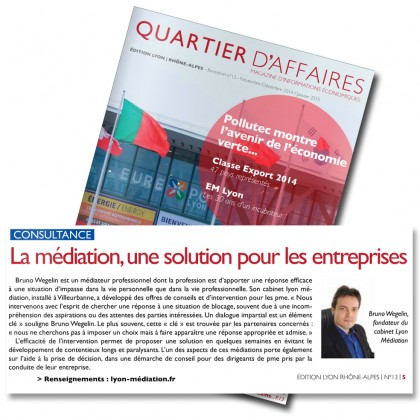 Quartier affaires Nov/Dec 2014