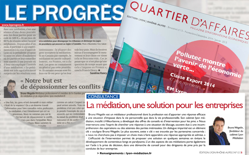 Presse lyon mediation