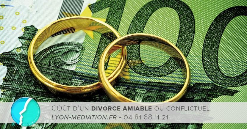 Choisir entre le coût d'un divorce amiable ou conflictuel